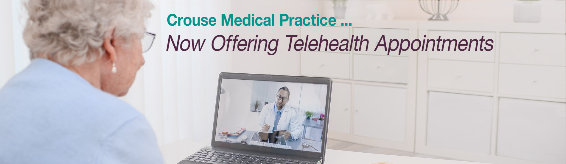 Telehealth Appointments are now offered by  Crouse Medical Practice, PLLC
